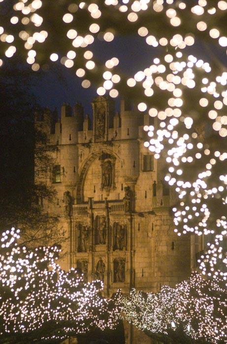 Luces de Navidad en Burgos