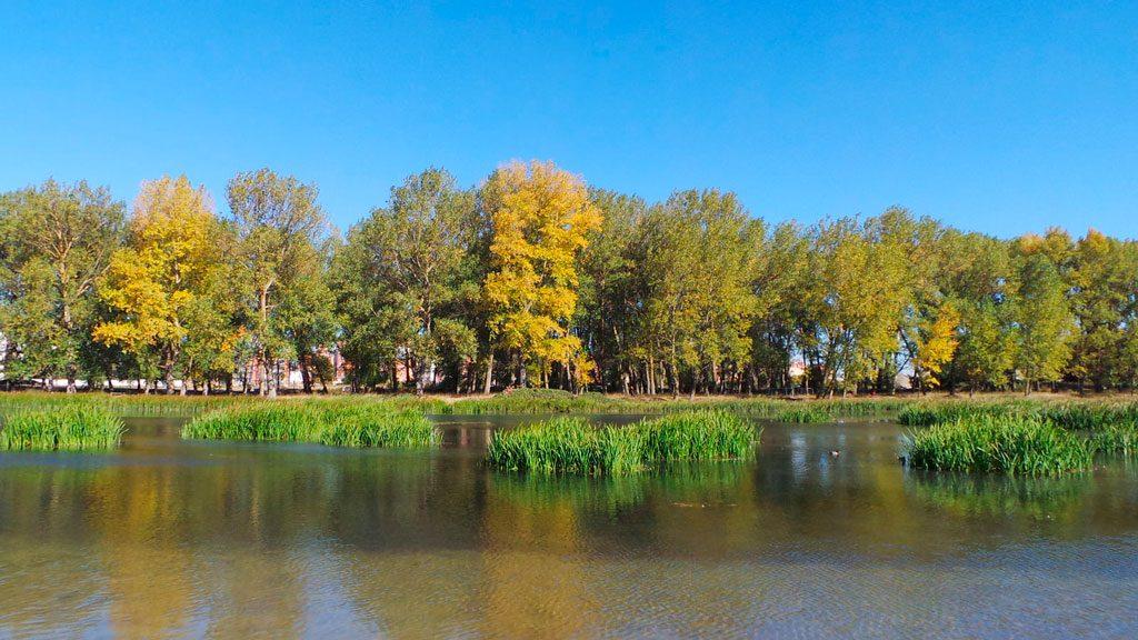 Playa Fuente Prior, piscina naturales de Burgos