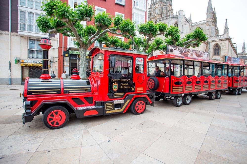 planes en Burgos con niños, tren turístico